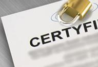 Certyfikaty produktowe